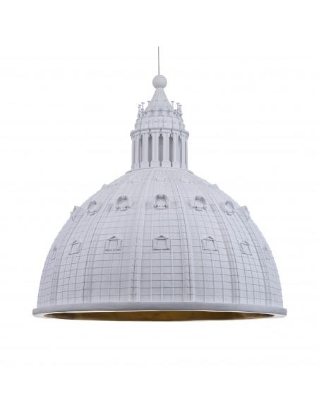 Suspension Cupolone en forme du dôme basilique Saint Pierre par Seletti x AMeBE