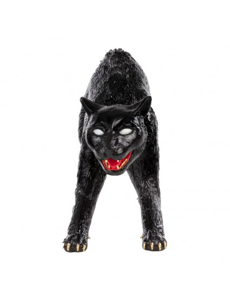 Lampe à poser rechargeable Cujo the cat en résine en forme de chat par Studio Job X Seletti