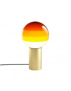 Lampe à poser Dipping Light S Ø20 cm en laiton par Jordi Canudas - Marset