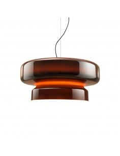 Suspension Bohemia 84 LED en polycarbonate rotomoulé par Joan Gaspar x Marset