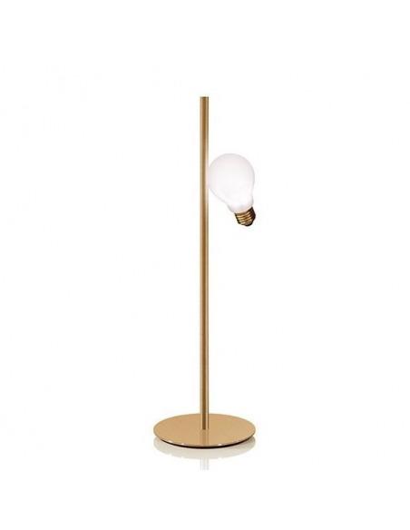 Lampe à poser IDEA en laiton par Marcantonio x Slamp