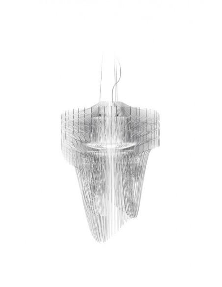 Suspension Aria en Cristalflex et Lentiflex par Zaha Hadid x Slamp