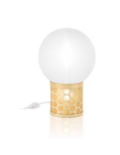 Lampe à poser Atmosfera en Goldflex par Lorenza Bozzoli x Slamp