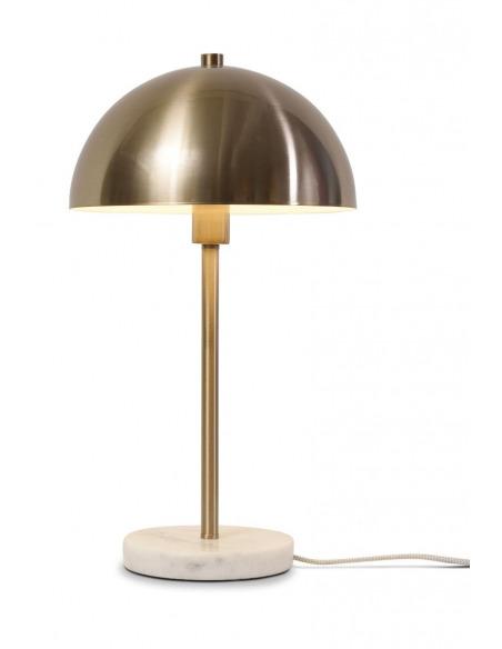 Lampe à poser Toulouse en métal et pied en marbre au design chic par It's About Romi