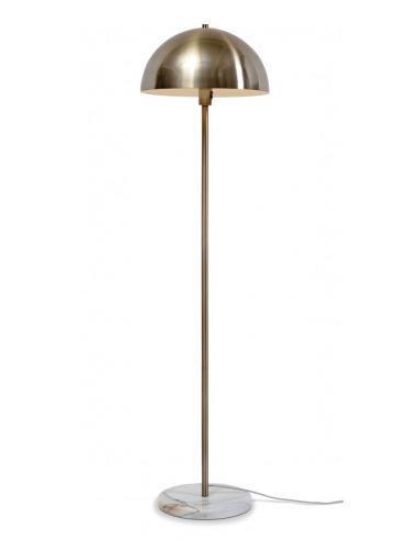 Lampadaire Toulouse en métal et pied en marbre au design chic par It's About Romi