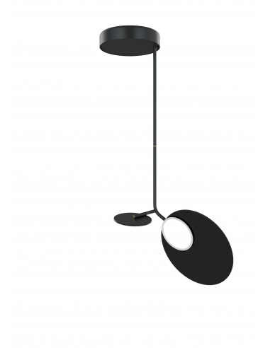 Plafonnier Ballon noir LED au design...