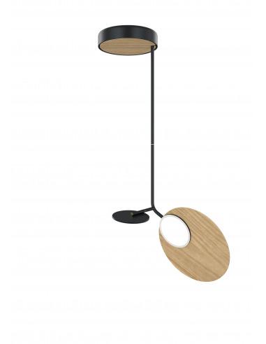 Suspension Ballon noir LED au design scandinave par Tunto