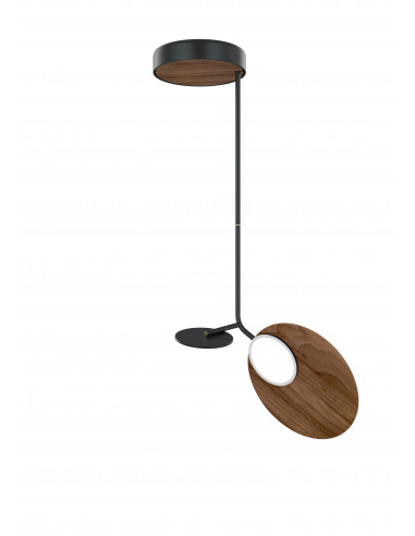 Plafonnier Ballon noir LED au design...