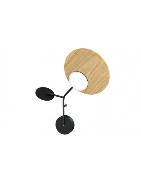 Applique Wall 3 LED Modèle droite noir au design scandinave par Tunto