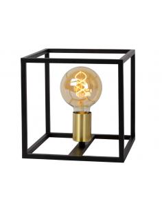 Lampe à poser Cage en métal...