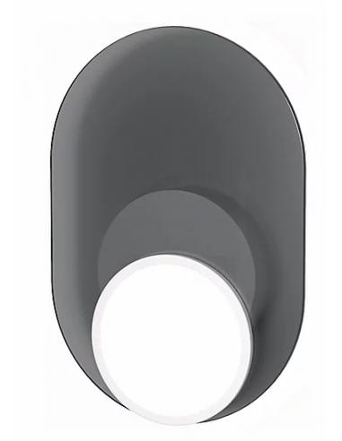 Applique Dot 03 en verre au design graphique par Tunto