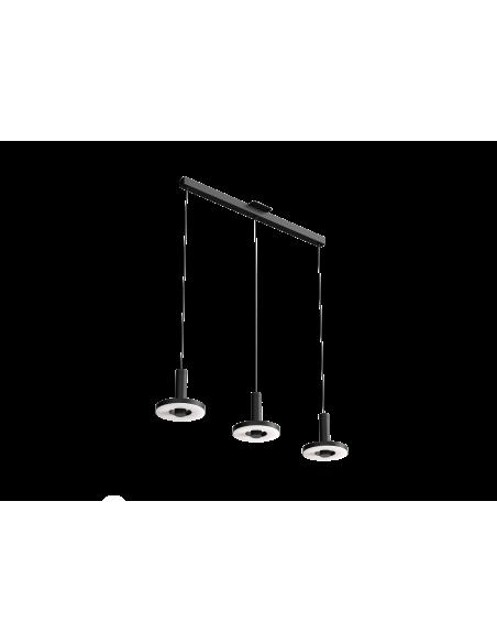 Suspension Beads in line 3 sources en aluminium au design industriel par Anton de Groof X Tonone