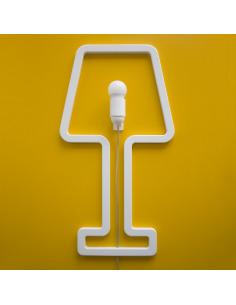 Lampe murale au design minimaliste Coloredshape en bois par Sabrina Fossi