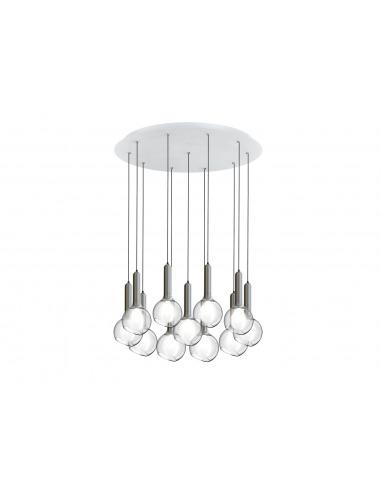 Suspension Luck 11 bulles LED avec...