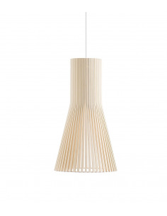 Suspension design scandinave 4201 en bois naturel