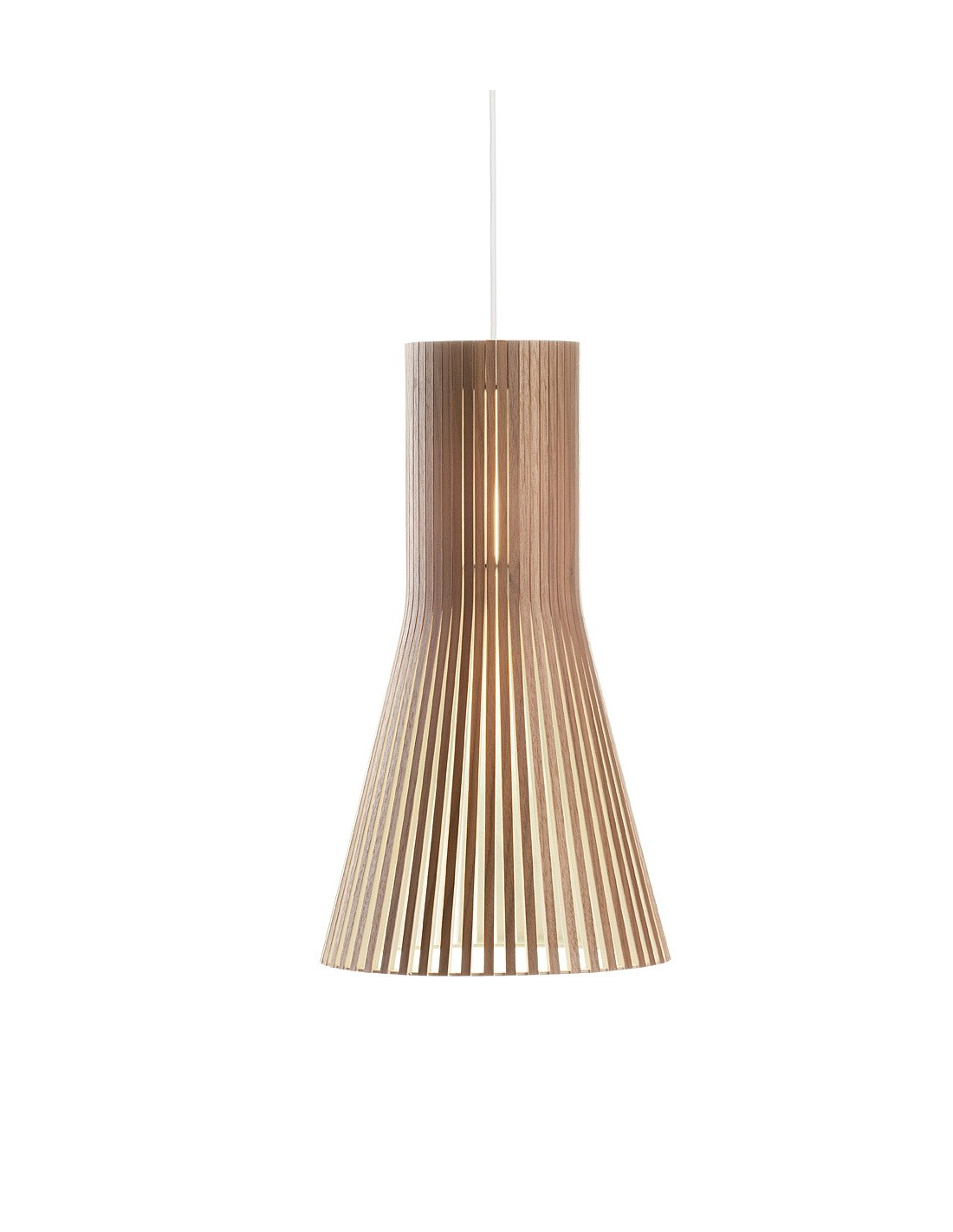Suspension Au Design Scandinave 4201 En Bois Naturel Otoko