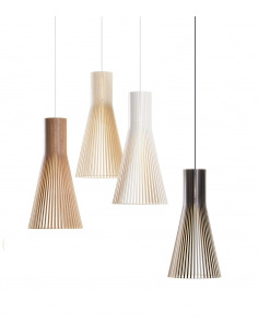 Suspension au design scandinave 4200 en bois naturel
