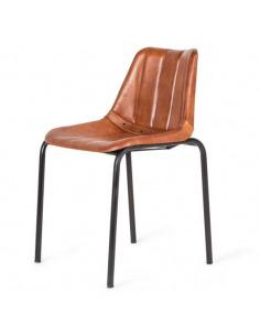 Chaise au design vintage en...