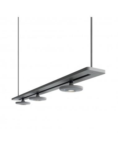 Suspension linéaire LED 3 lumières en...