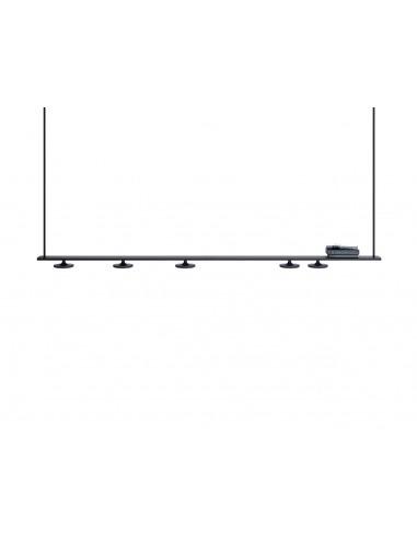 Suspension linéaire LED 5 lumières en...
