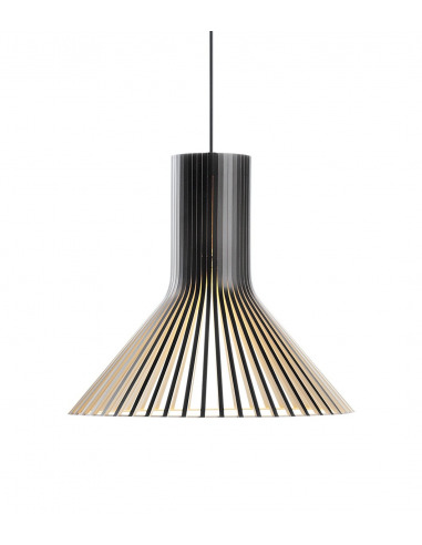 Suspension au design scandinave Puncto 4203 en bois naturel