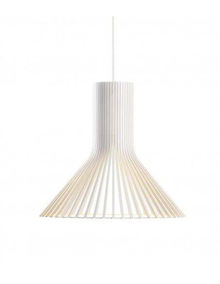 Suspension au design scandinave Puncto 4203 en bois naturel