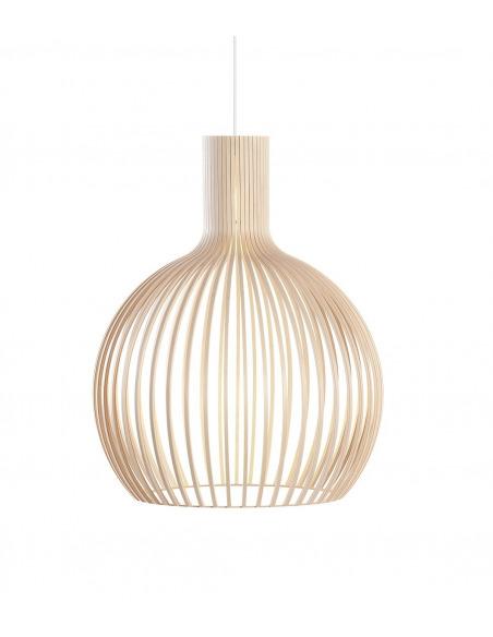 Suspension au design scandinave Octo 4240 en bois naturel