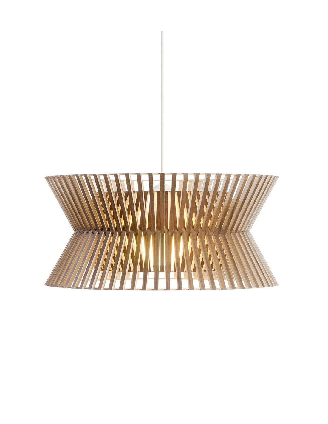 Suspension Au Design Scandinave Kontro 6000 En Bois Naturel Otoko
