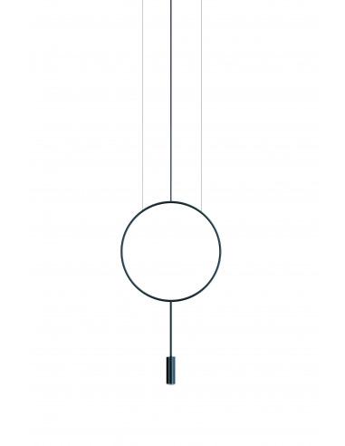 Suspension LED en aluminium Ø 38cm -...