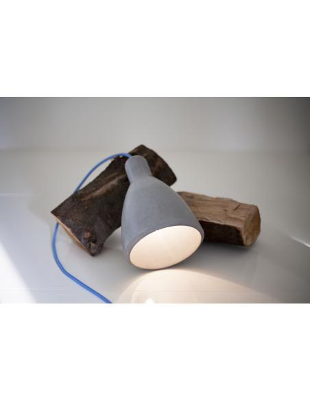 Suspension design en béton gris Model 1 par Seenlight style industriel