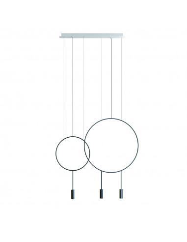Suspension LED linéaire - double...