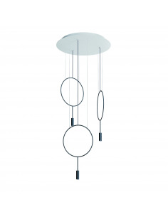 Suspension LED ronde - 3...