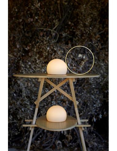 Lampe de table LED extérieure 23 cm -...