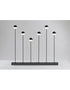 Lampadaire 6 bulles LED en...