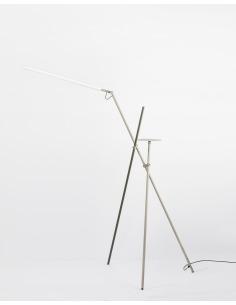 Lampadaire LED en métal -...