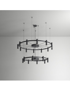 Suspension Chandelier 16+24...