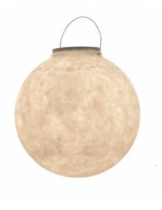 Lampe nomade Luna Take Away en forme de lune en Nebulite par In-es Art Design