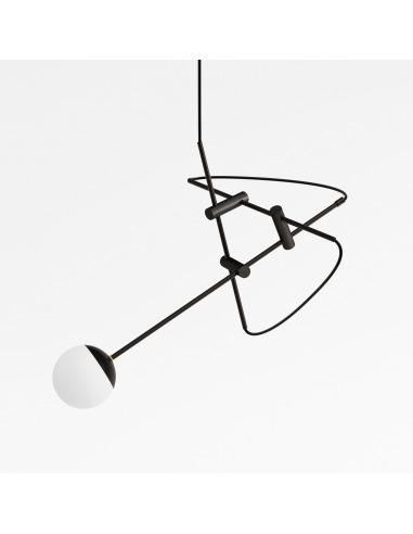 Suspension Tori en chêne naturel par Kaito Yamada x Moon Moth