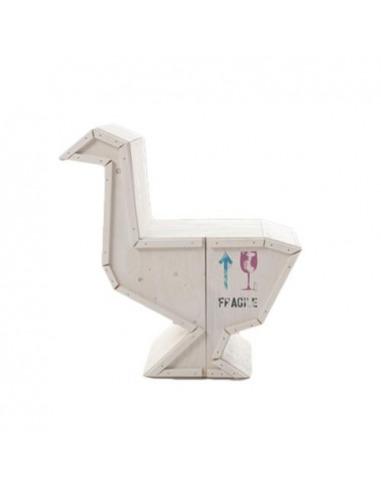 Buffet Sending Animals 2.0 version blanc en forme de d'oie par Marcantonio x Seletti