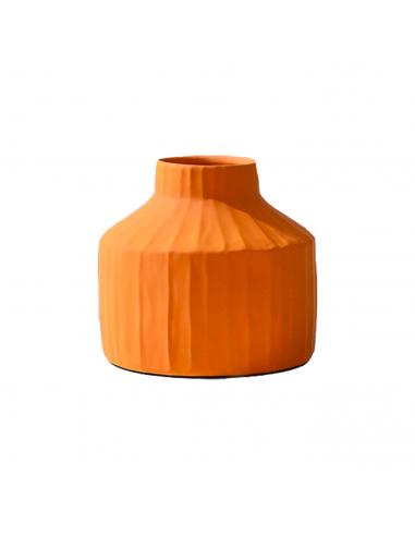 Vase Korinthos moutarde en céramique...