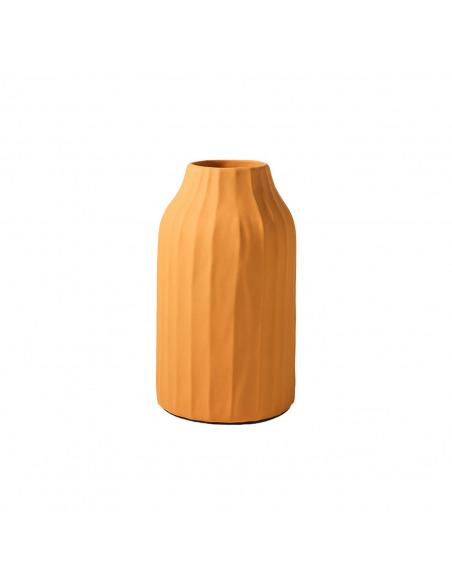 Vase Korinthos curry en céramique au design vintage par Pavao Studio