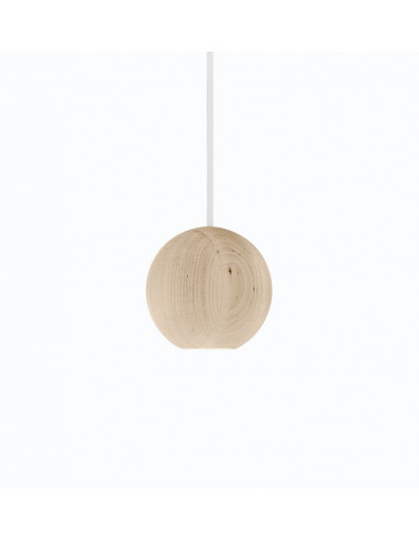 suspension led en bois liuku ball au design scandinave. Black Bedroom Furniture Sets. Home Design Ideas