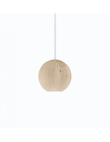suspension led en bois liuku ball au design scandinave otoko. Black Bedroom Furniture Sets. Home Design Ideas