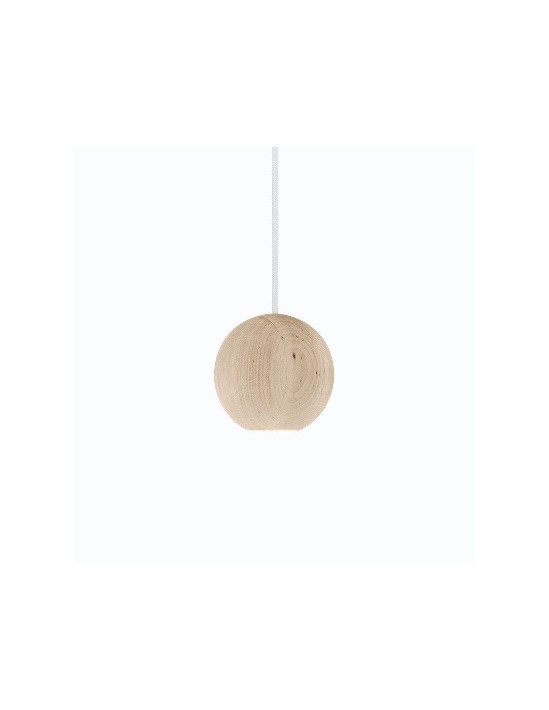 suspension led en bois liuku ball au design scandinave otoko. Black Bedroom Furniture Sets. Home Design Ideas