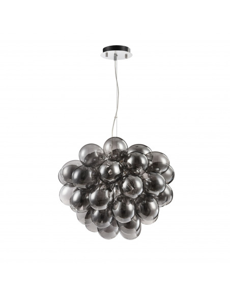Suspension Balbo 8 en métal et verre au design contemporain par Maytoni