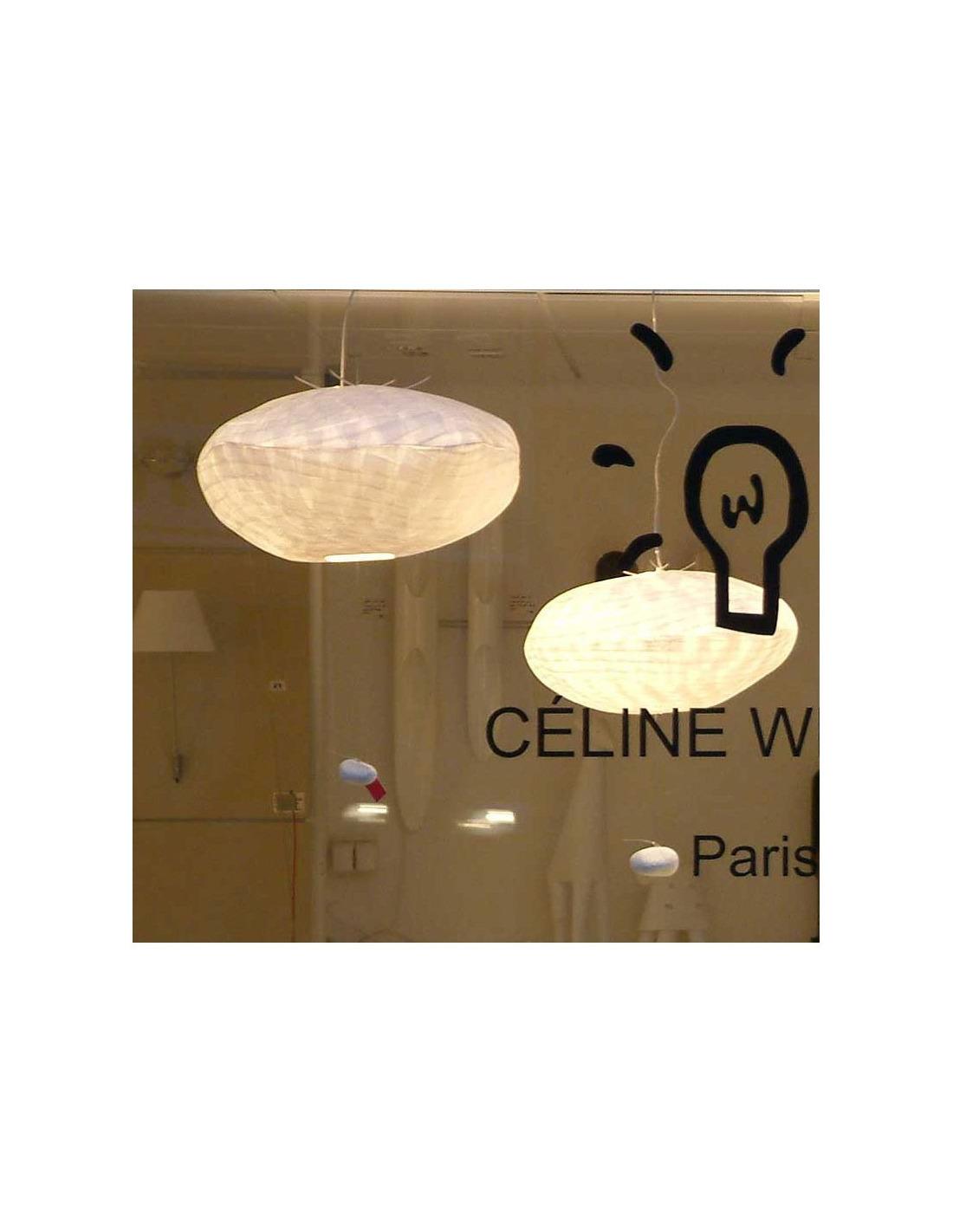 suspension co design giboul e en papier japonais par celine wright otoko. Black Bedroom Furniture Sets. Home Design Ideas