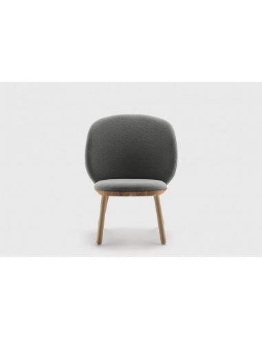 Fauteuil Naïve Low Chair en camira au design scandinave par etc.etc. x Emko