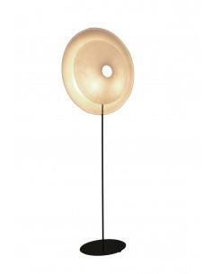 Lampadaire éco-design Diva en papier japonais par Celine Wright