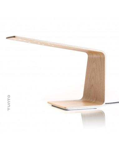 Lampe à poser tactile en bois Led 1 au design scandinave et minimaliste