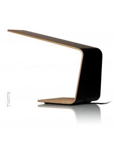 lampadaire tactile en bois led 2 au design scandinave et. Black Bedroom Furniture Sets. Home Design Ideas
